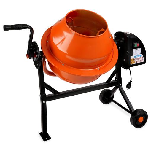 Eberth mezcladora de hormig n hormigonera mortero 65l - Mezcladora de mortero ...