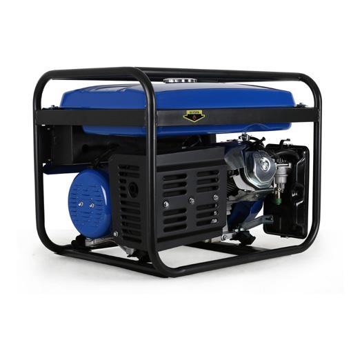 eberth 5500w benzin stromerzeuger notstromaggregat. Black Bedroom Furniture Sets. Home Design Ideas