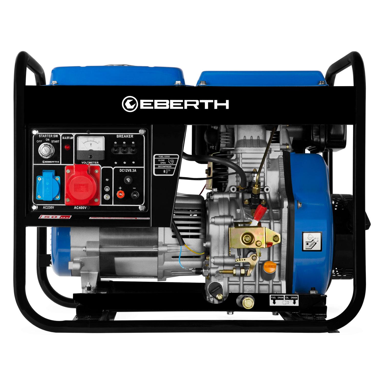 Eberth 5kw generatore di corrente diesel gruppo for Generatore di corrente diesel usato