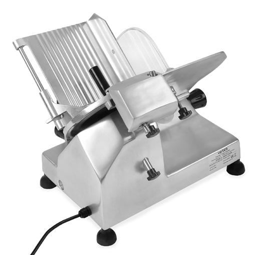 VERTES Affettatrice professionale taglia elettrica con lama accaio inox 220mm
