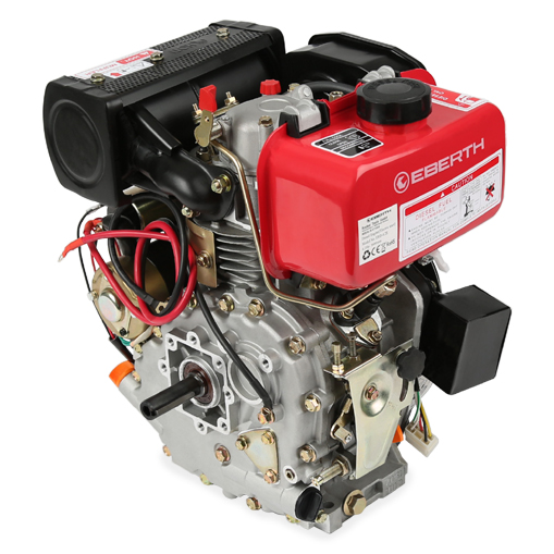 eberth 4 2ps dieselmotor standmotor kartmotor motor 4 takt. Black Bedroom Furniture Sets. Home Design Ideas