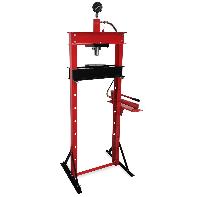 Eberth 20t presse pressa idraulica manuale manometro for Pressa idraulica manuale