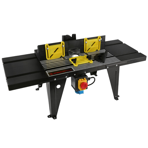 Eberth router table electric spindle moulder work bench for Router work table