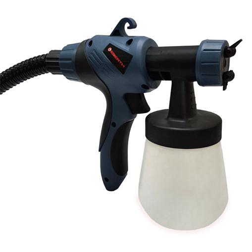 eberth 650w pistolet peinture lectrique station systeme de pulverisation fine ebay. Black Bedroom Furniture Sets. Home Design Ideas